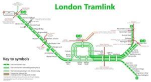 Карта Tramlink
