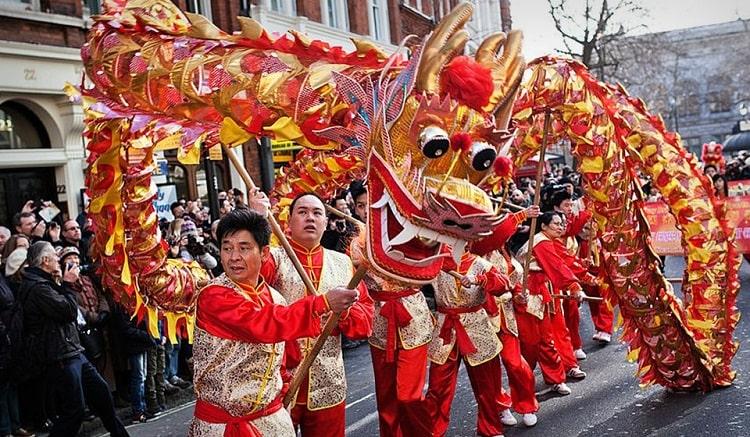 Китайский Новый год 2020 в Лондоне
